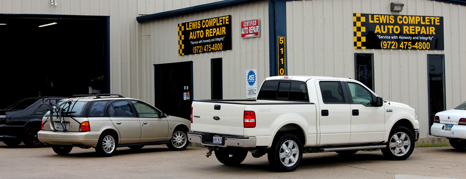 Lewis Complete Auto Repair Shop in Rowlett Texas
